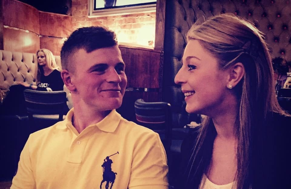 Calum Pearson and Emily Gill were forced to postpone their wedding because of Covid-19.