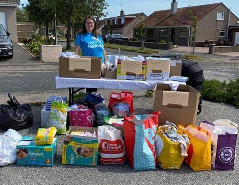Katie Wade organised a collection for the neonatal unit.