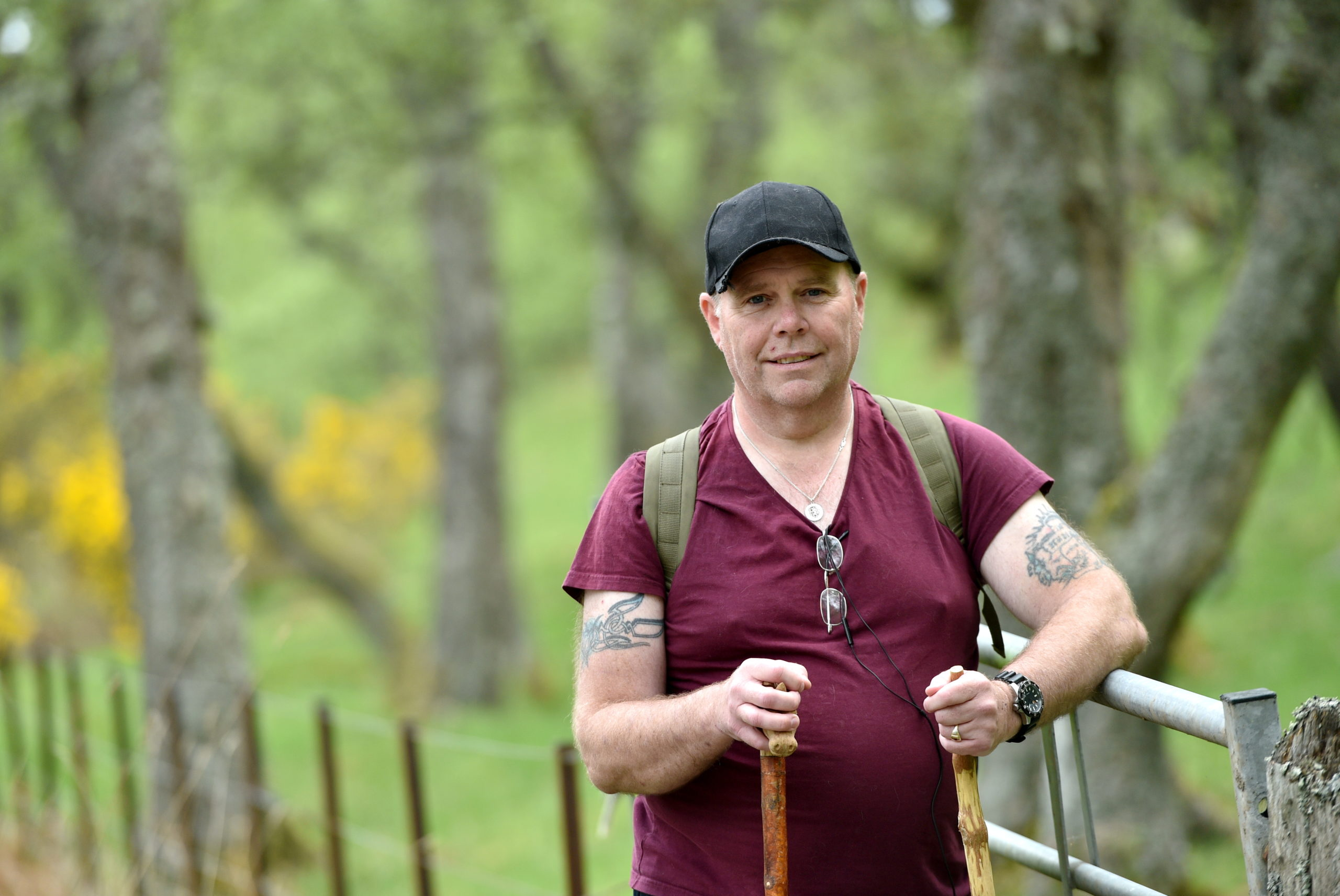 Mark Robinson has completed a million-step challenge for NHS charities. Image by Darrell Benns