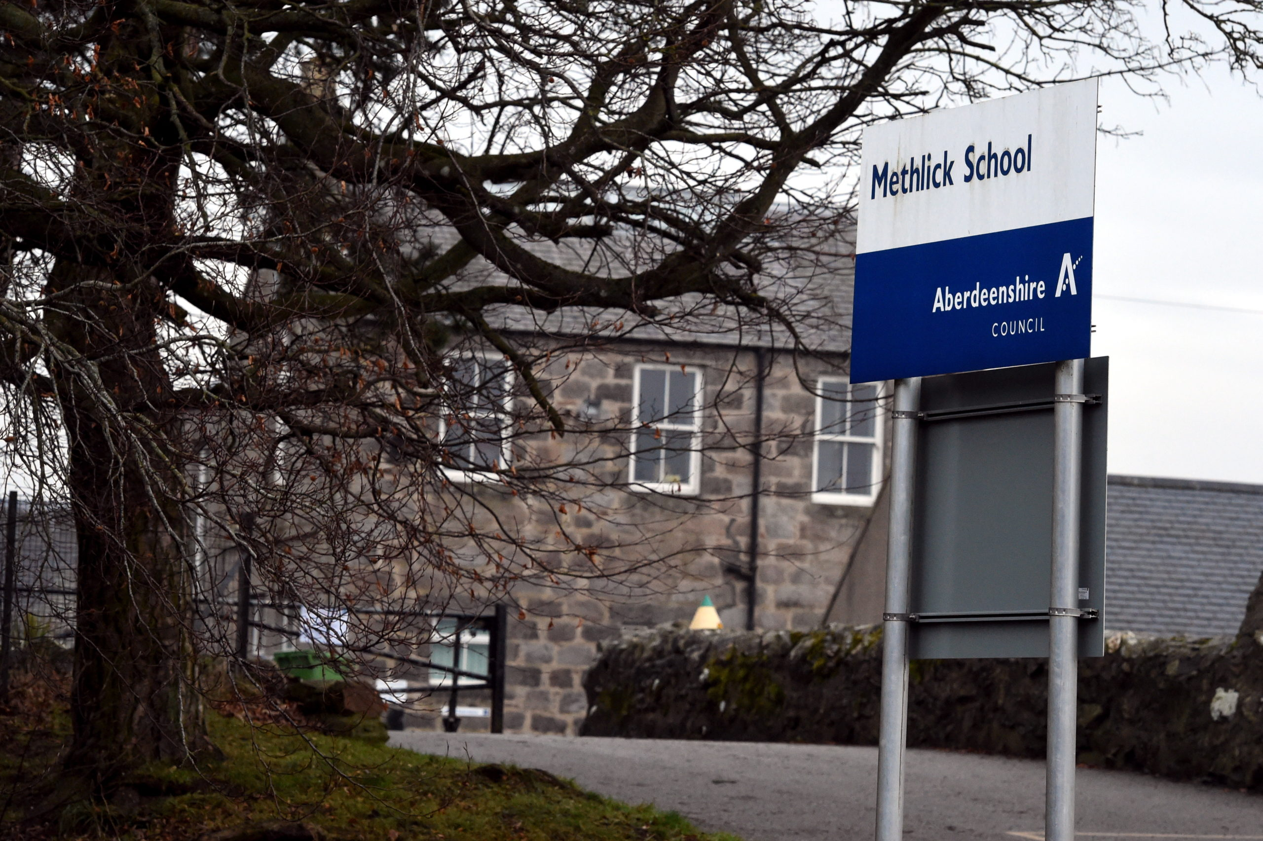 Methlick Primary School. Picture by Jim Irvine