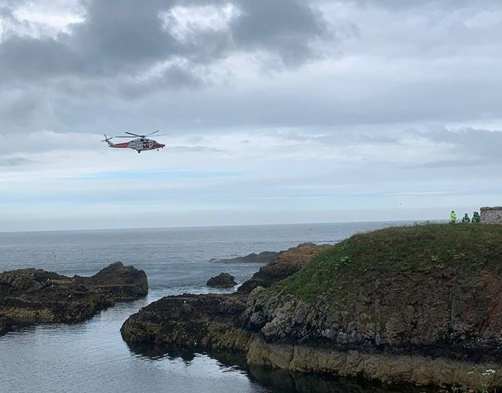 Picture by HM Coastguard Aberdeen City & Shire