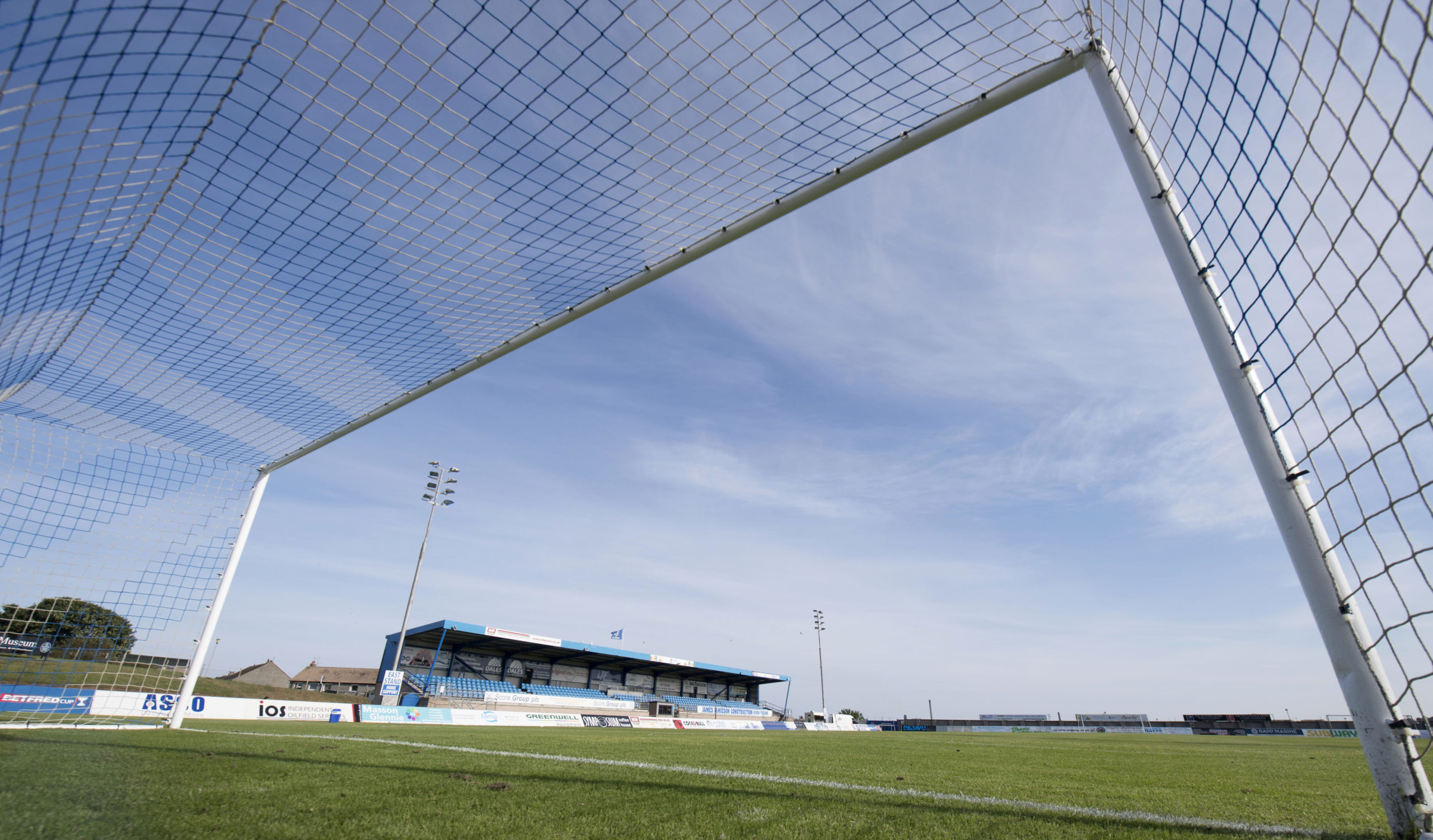 Peterhead will play Fraserburgh at an empty Balmoor Stadium