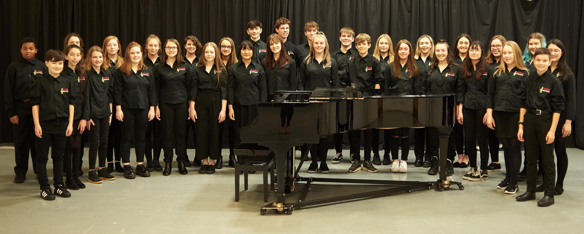 Aberdeen City Music School students earlier this year