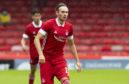Aberdeen midfielder Ryan Hedges