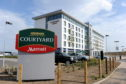 Extension plans for the Courtyard by Marriott hotel at Aberdeen Airport have been approved again