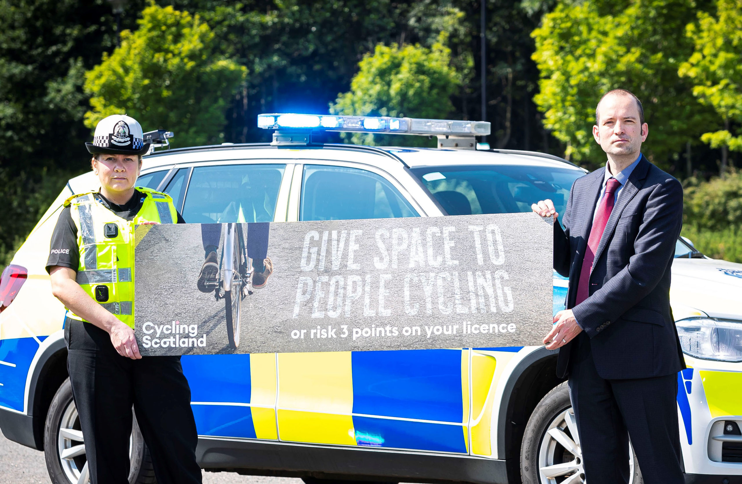 Operation Close Pass has been launched to ensure cyclists are being passed on roads with enough space