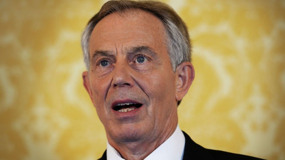 Tony Blair said Labour should have been strongly in favour of the Union