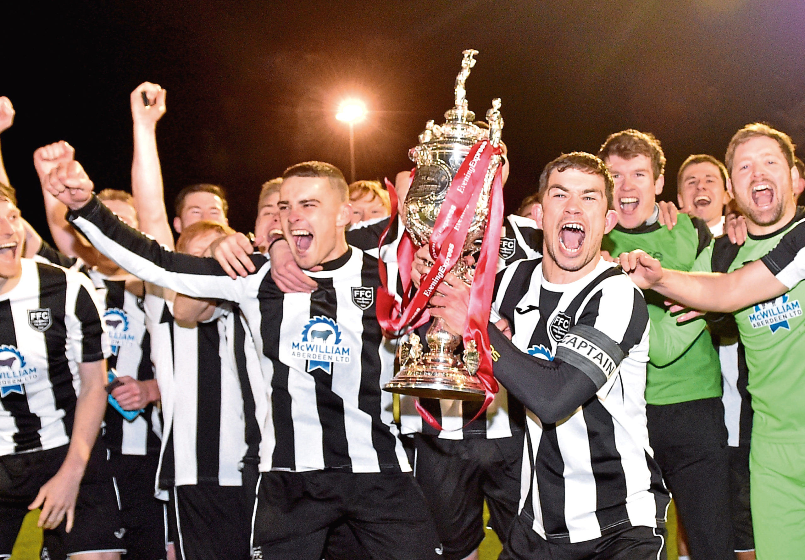Fraserburgh lifted the Evening Express Aberdeenshire Cup last term