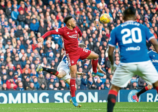 Aberdeen will meet Rangers at Pittodrie on Saturday.