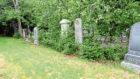The Dyce West churchyard