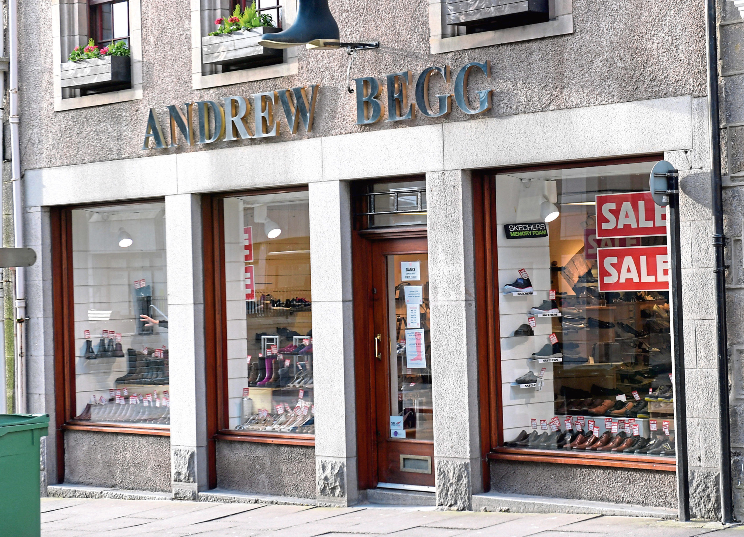 Andrew Begg on Upper Kirkgate
