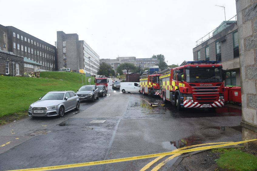 Emergency services at Aberdeen Royal Infirmary