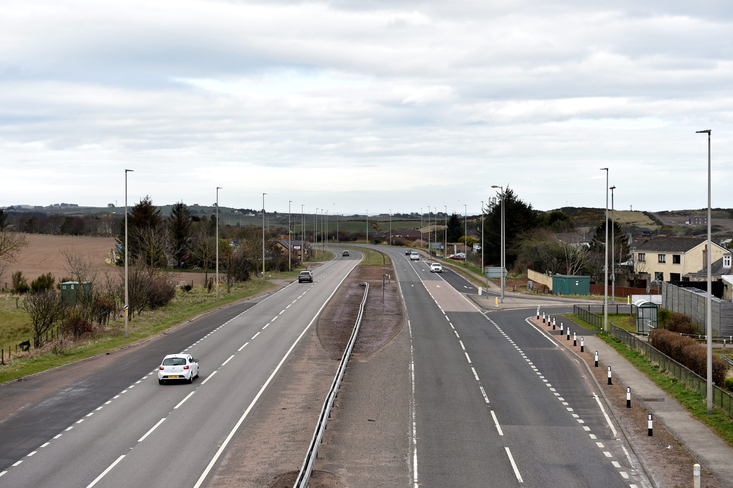 The A92 at Newtonhill is to be resurfaced next week