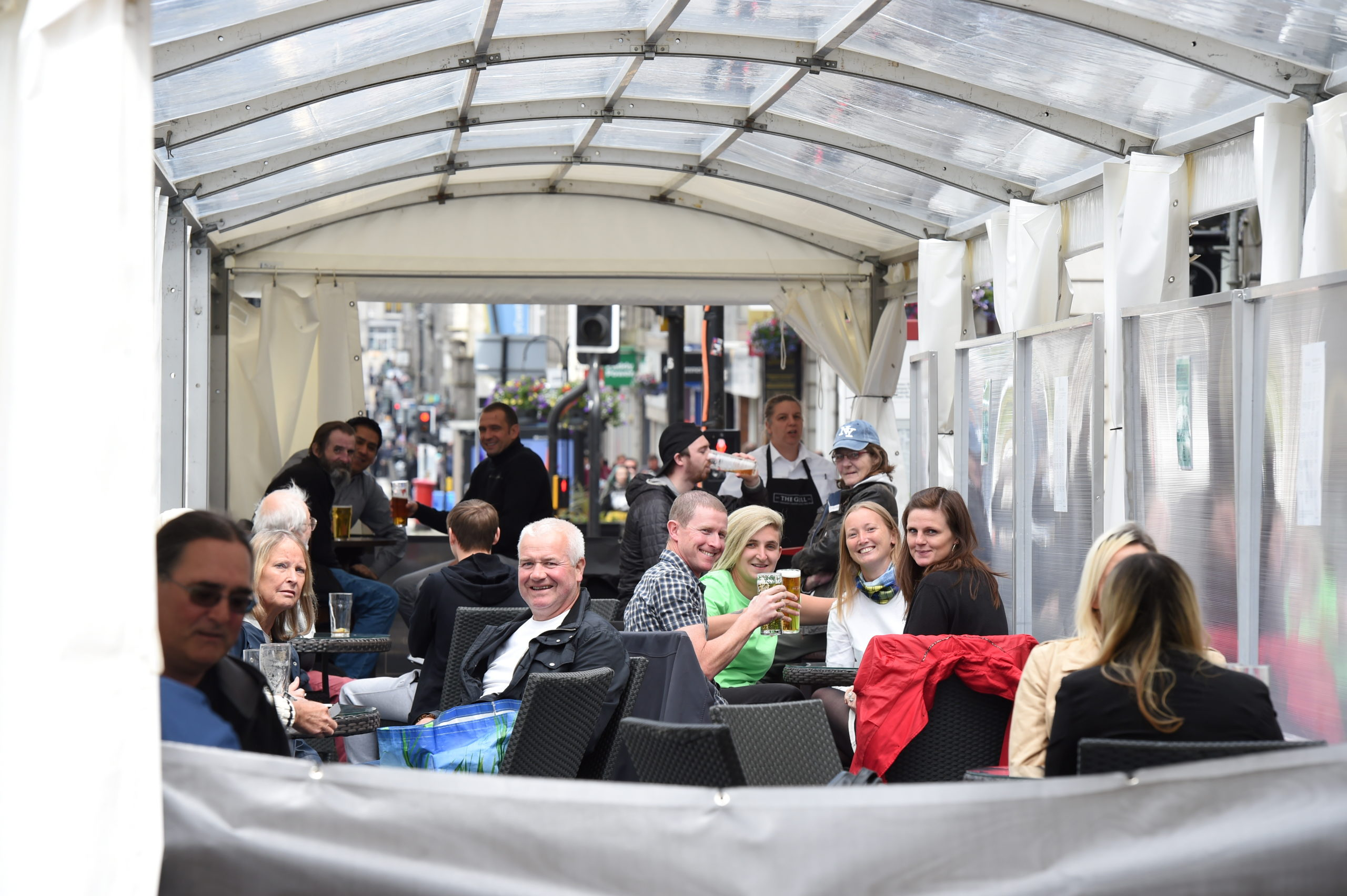 Occasional licenses have been used to facilitate beer tents in the city centre