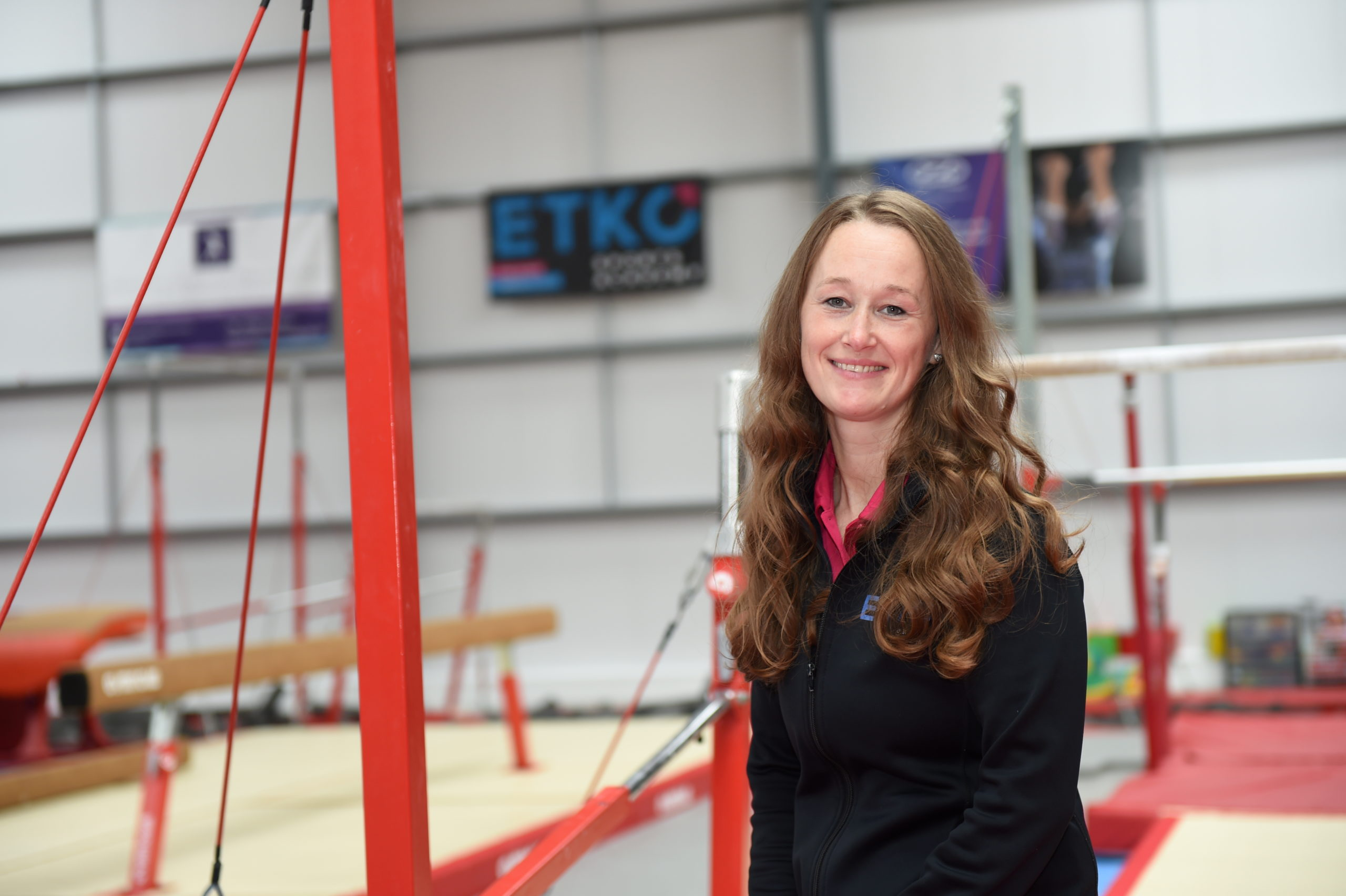 Pictured is Laura Etko, founder and director of ETKO Sports Academy