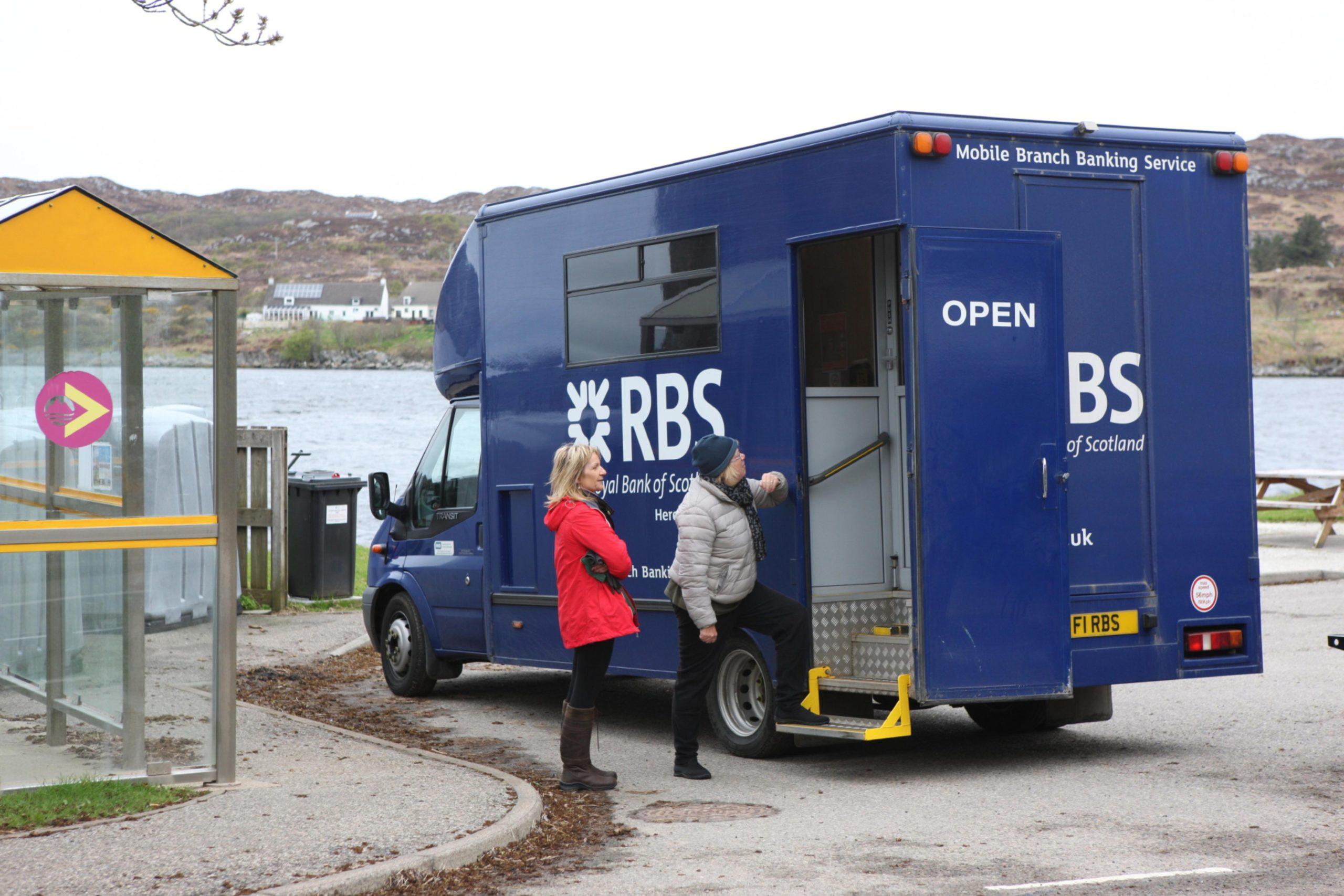 An RBS mobile bank