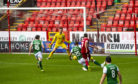 Bryson scores to make it 1-0 against Hibernian in a pre-season friendly.