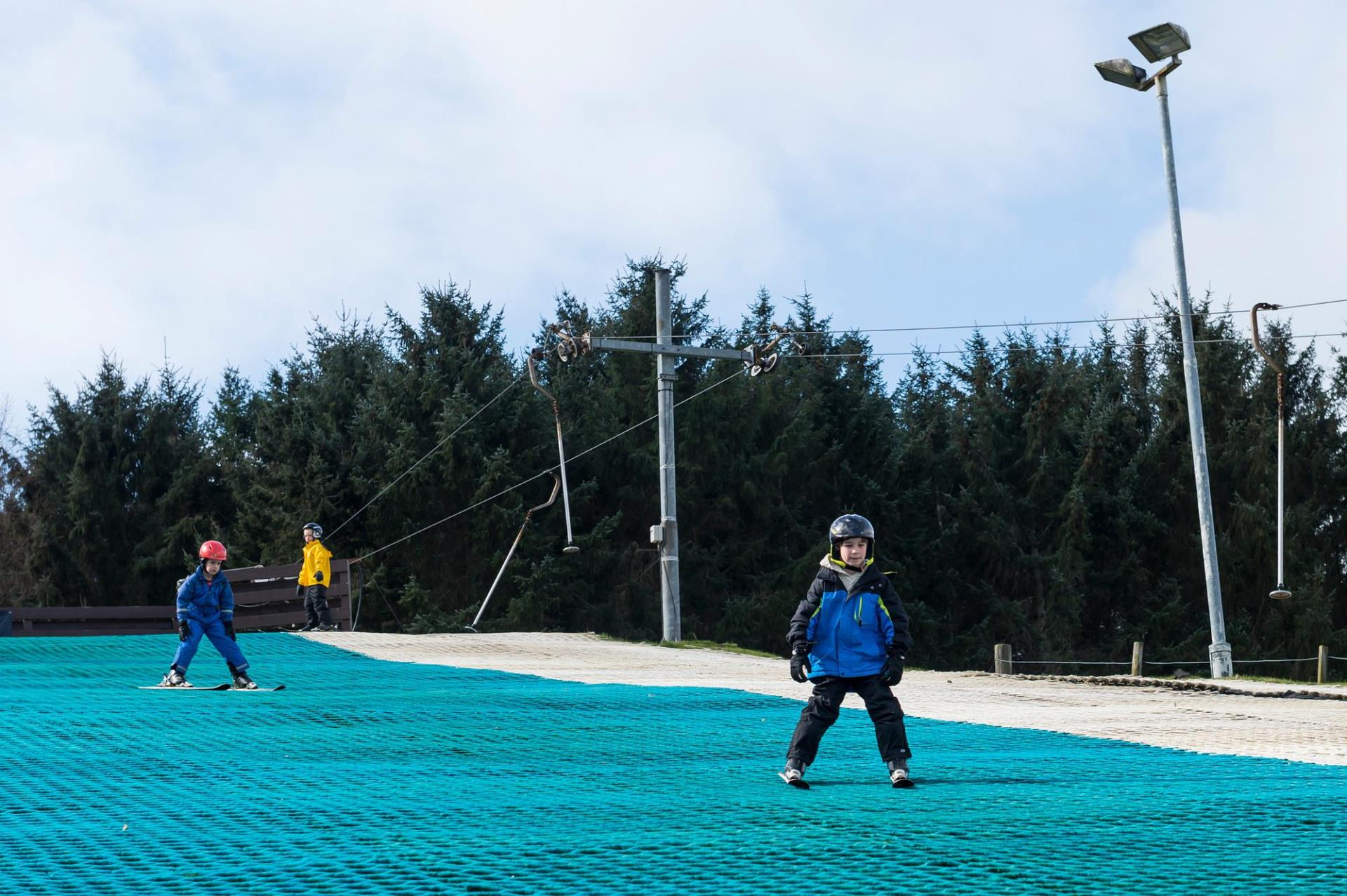 The ski centres in Alford and Huntly will reopen this weekend