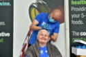 Alison Boddie had her head shaved for charity
