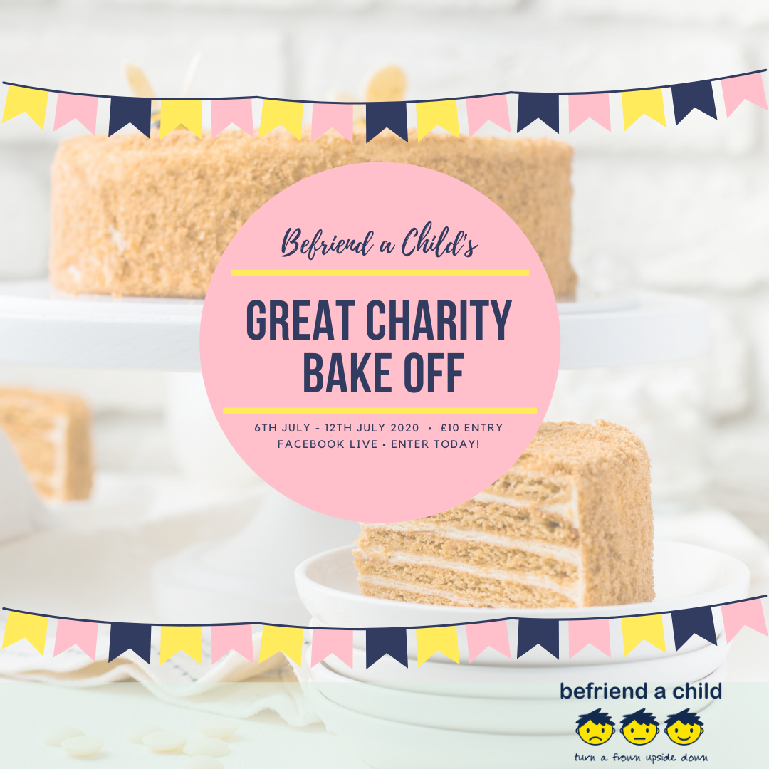 The virtual bake off event runs all week