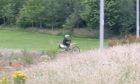 The biker escaped under George VI bridge