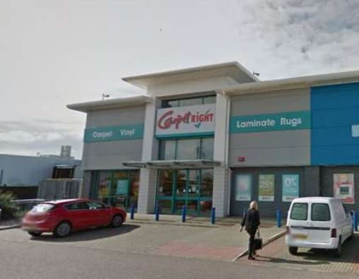 Carpetright in Fraserburgh closed two years ago