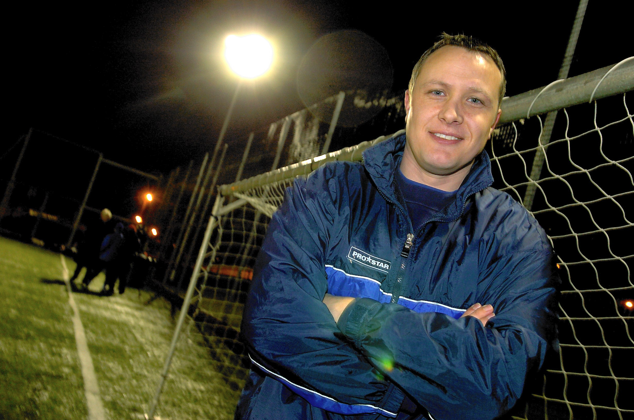 David Hagen played for Peterhead from 2004 to 2006