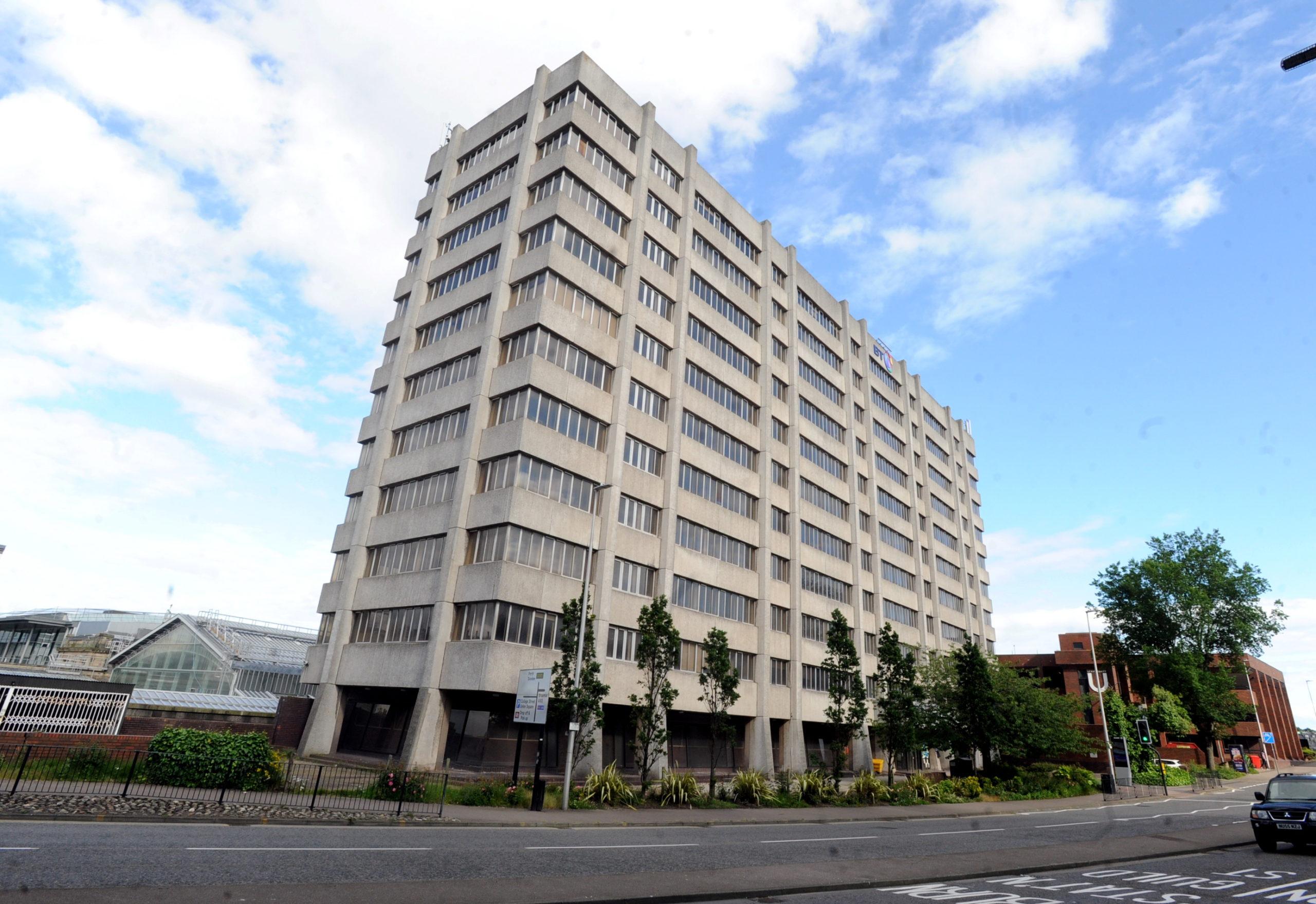 New Telecom House on Aberdeen's College Street