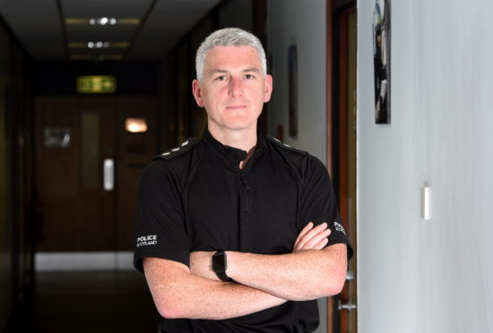 Area Commander Chief Inspector Norman Stevenson