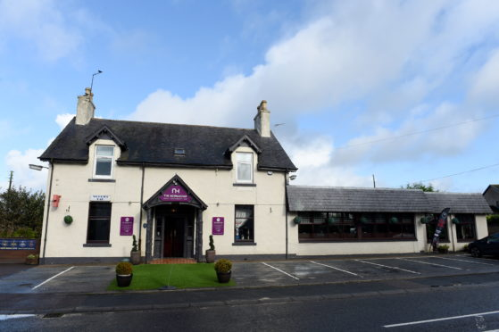 The Newmachar Hotel. Picture by Kenny Elrick