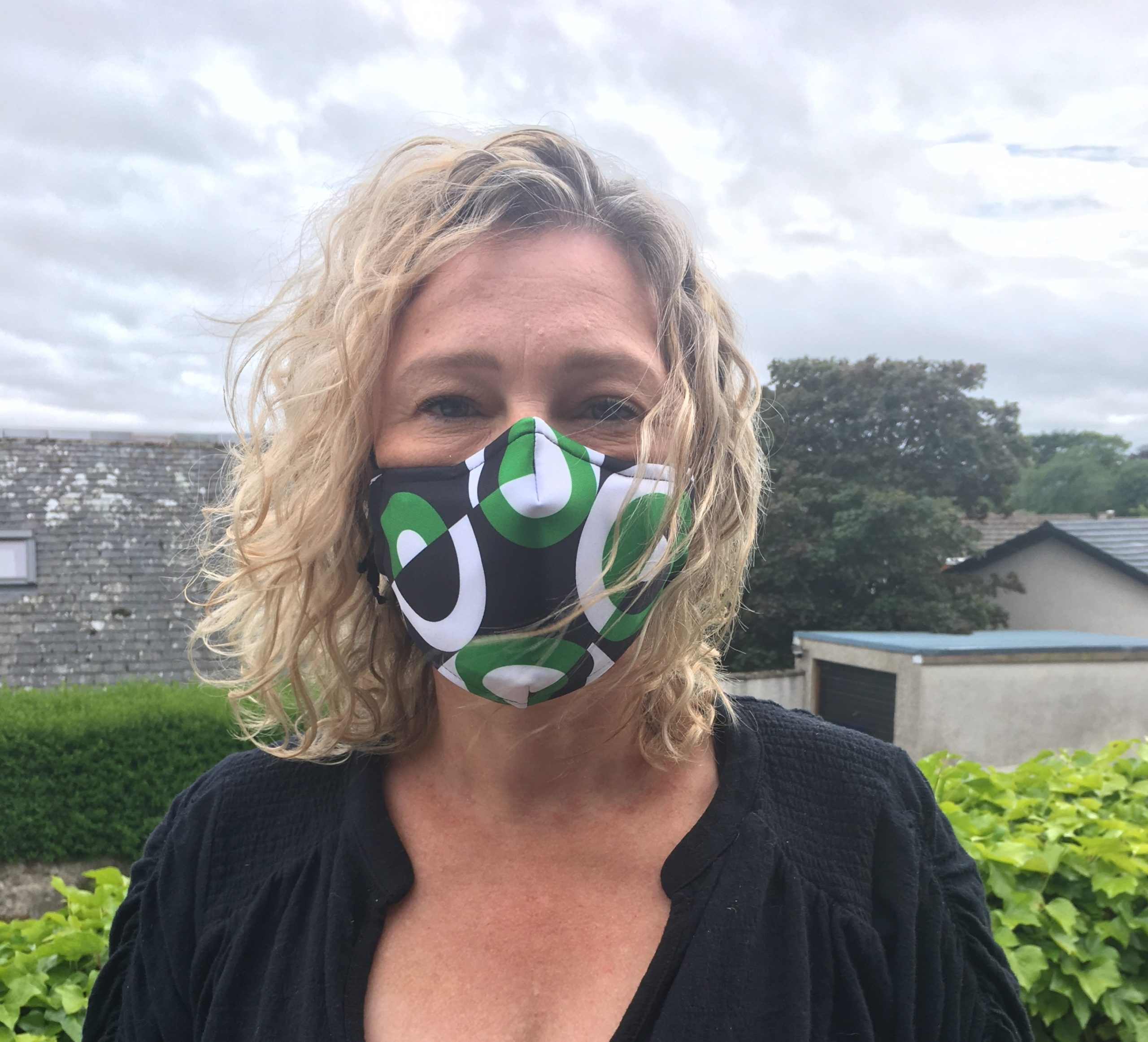 Gillian Martin MSP has advocated the wearing of masks.