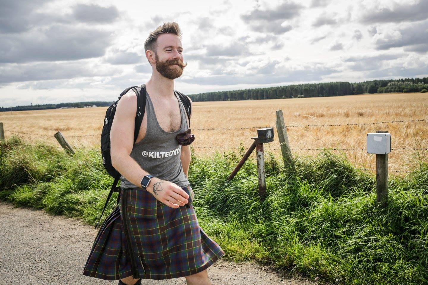 Kiltwalkers and The Hunter Foundation have raised and distributed £2.5 million in 2020 so far