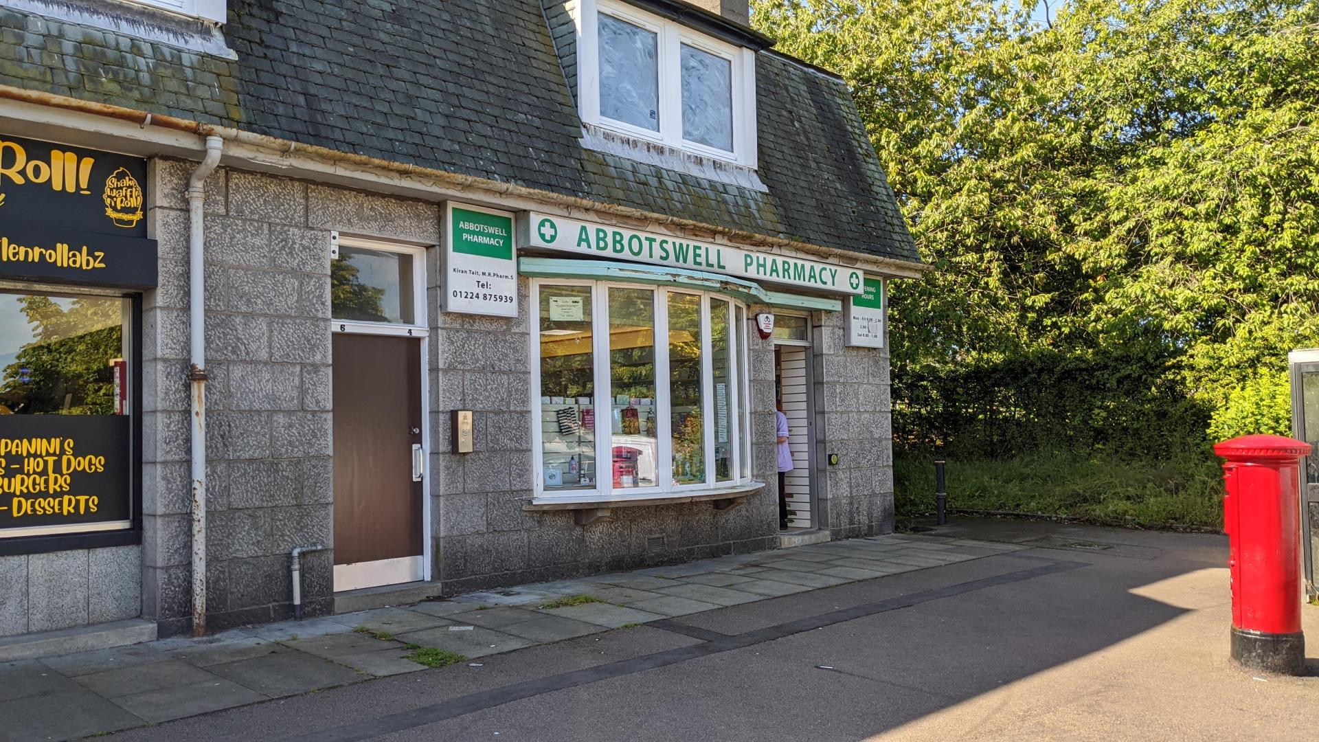 Abbotswell Pharmacy on Abbotswell Crescent
