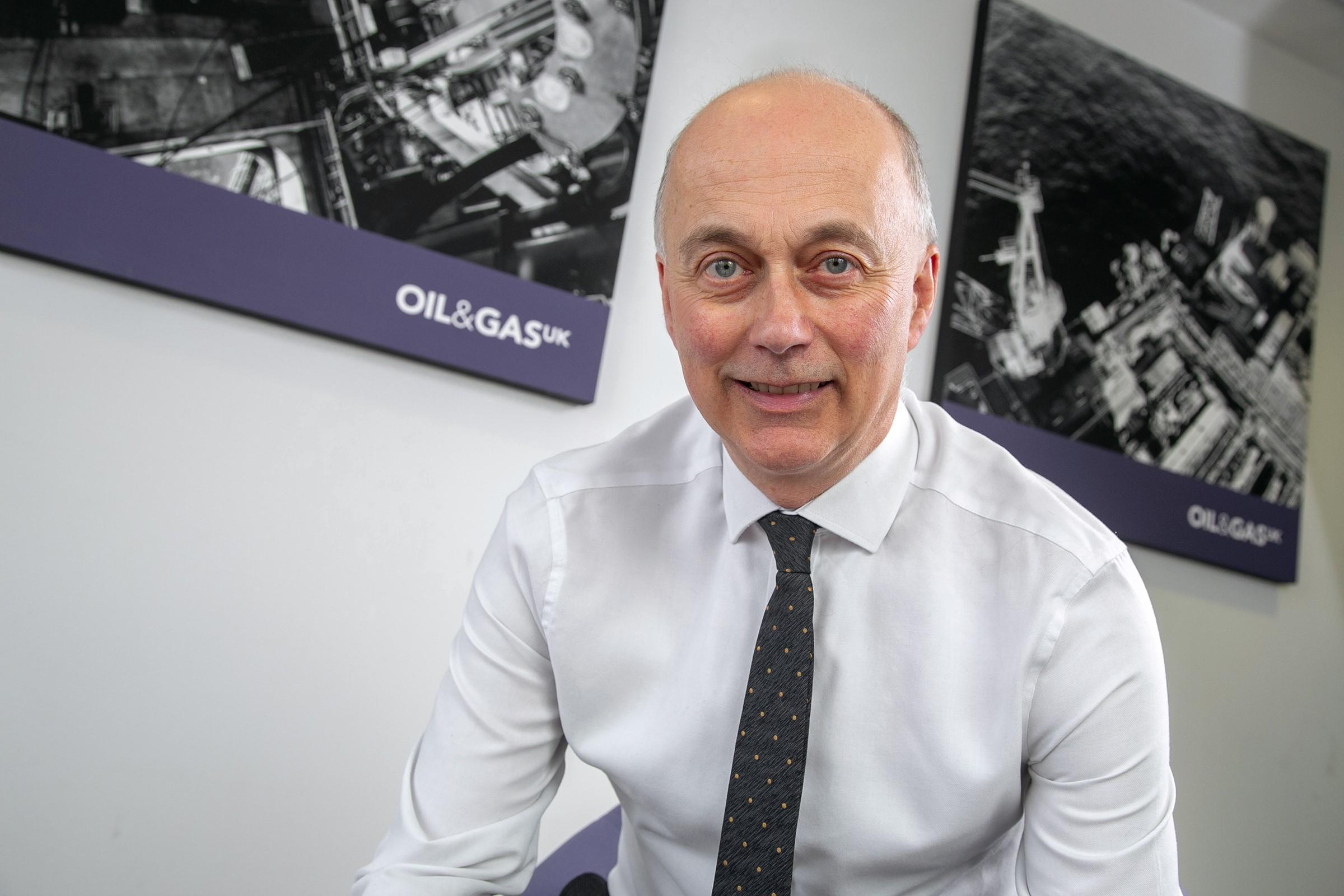 OGUK HSE director, Trevor Stapleton