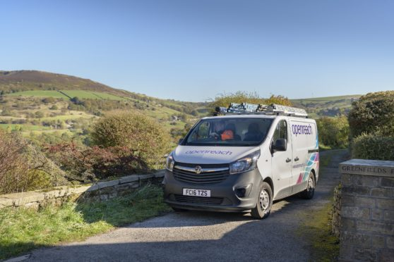 Richard Thomson is backing moves to improve broadband in Ellon and Inverurie