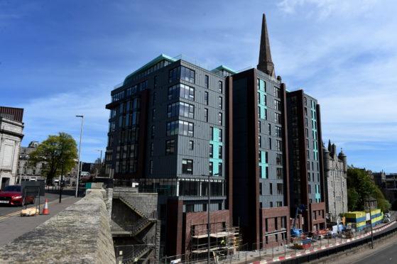 The Point development in Aberdeen city centre