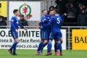 Cove Rangers won the League Two title last season