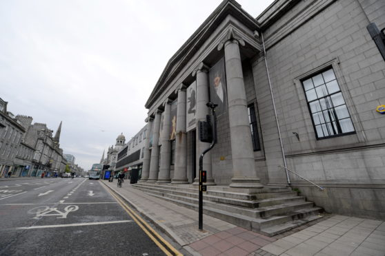 The Music Hall on Union Street, which is run by Aberdeen Performing Arts. Picture by Kath Flannery