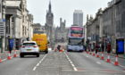 There have been no Covid-19 deaths in Aberdeen City Centre. Picture by Kami Thomson