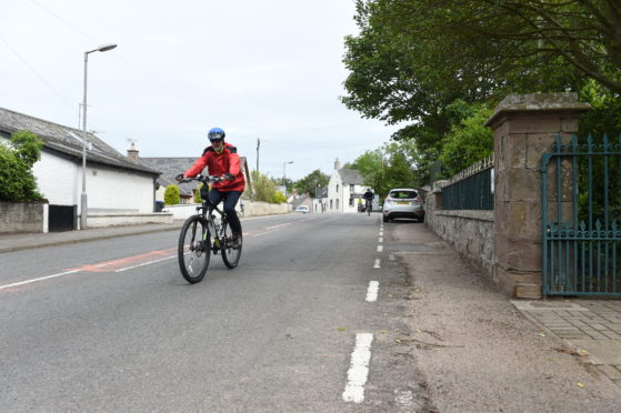 The initiative focuses on keeping cyclists safe on the road. Picture by Paul Glendell