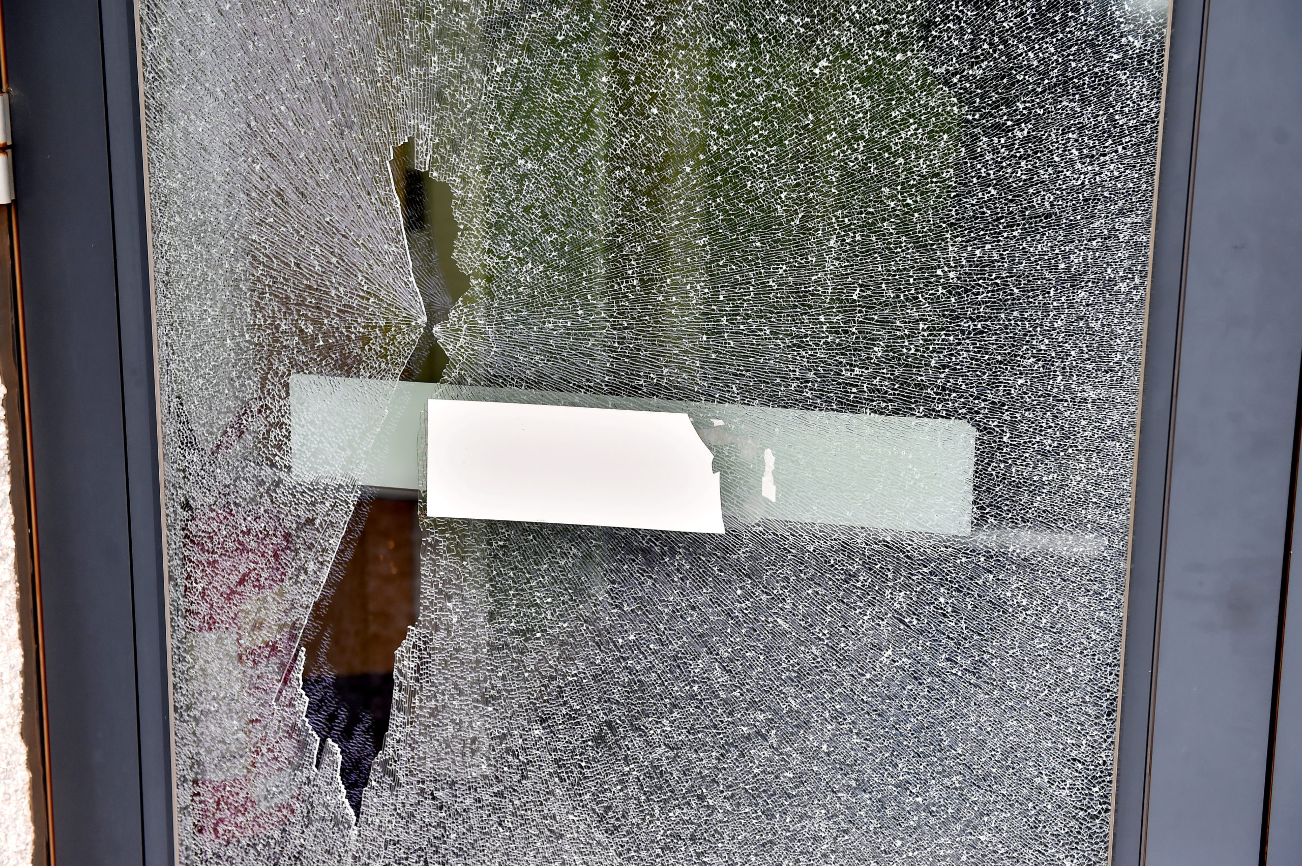 Cove Bay medical centre was vandalised