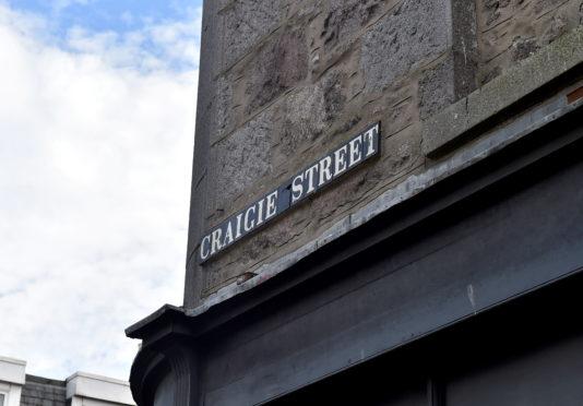 Craigie Street in Aberdeen.