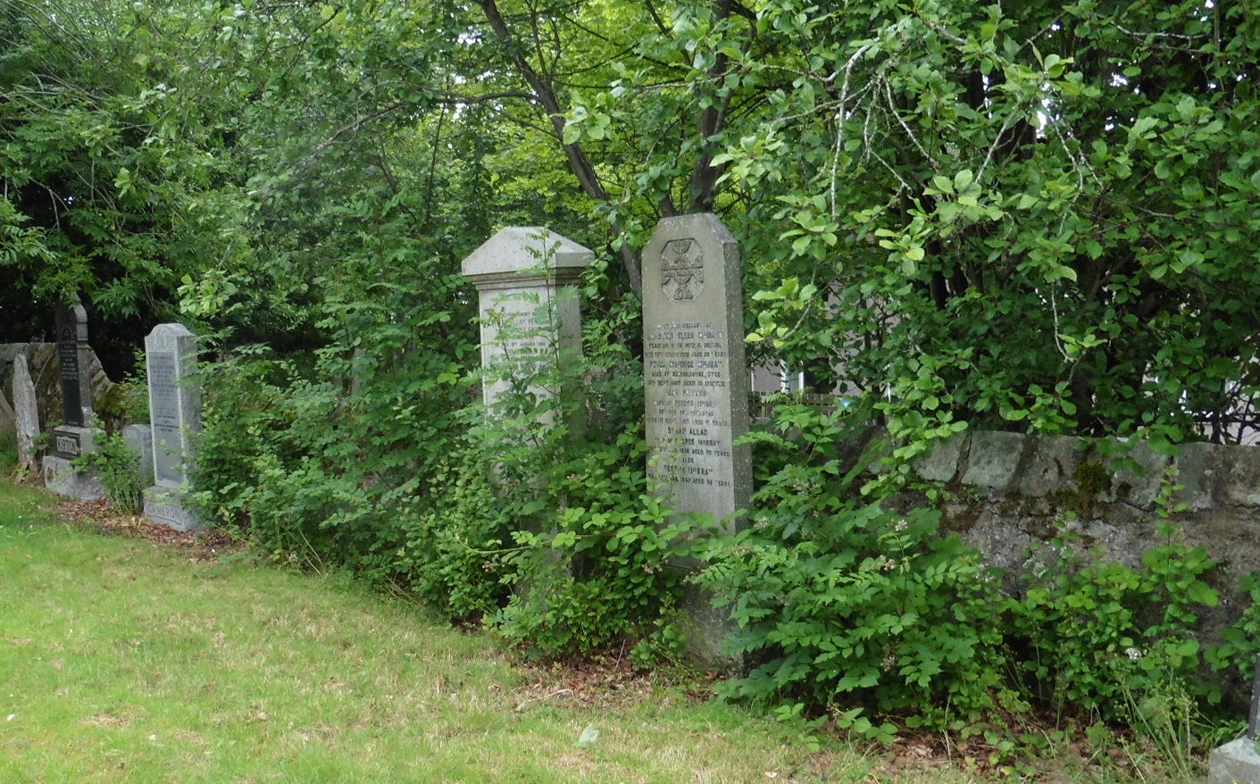 The cemetery on Pitmedden Road