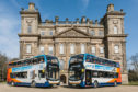 Stagecoach Bluebird's Service 35 fleet of electric hybrids have been recognised in the Scottish Transport Awards