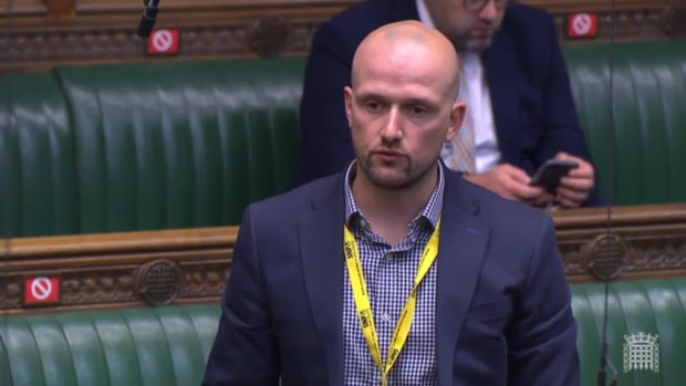 Stephen Flynn pressed the UK Government on the issue in Parliament.