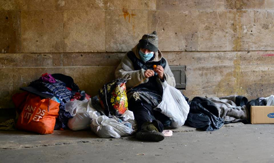 Face masks are being sought for the homeless in Aberdeen