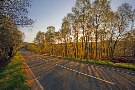 There's a range of stunning road trips in the north-east of Scotland