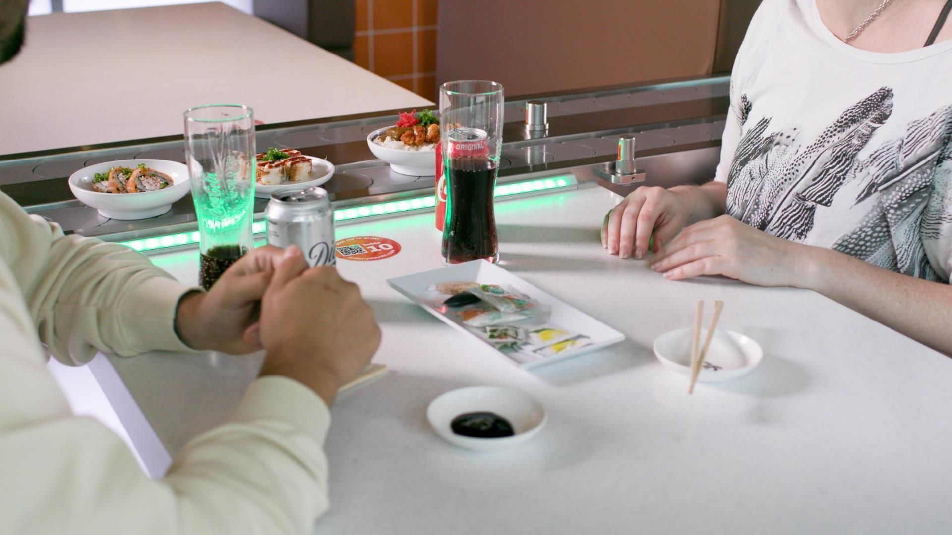 Yo! has announced a new conveyor belt system for diners.