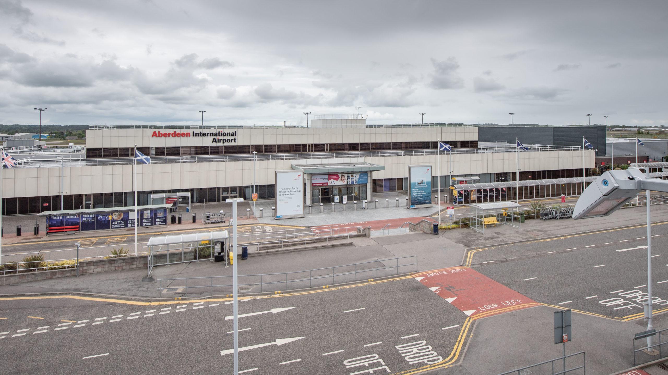 Aberdeen airport Picture by Abermedia / Michal Wachucik