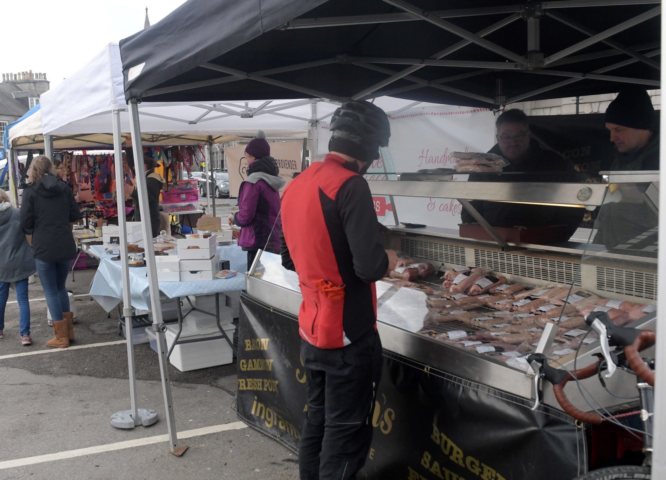 A farmers market will be held in Aboyne next Saturday